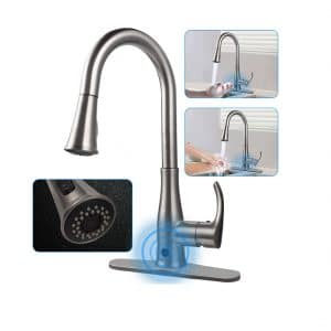 SOOSI Touchless Wave Sensor Kitchen Faucet