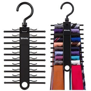 Tenby Living 2-Pack Tie Hanger