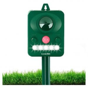 Amacan Outdoor Motion Detector& Flashing Light