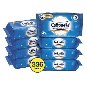 Cottonelle FreshCare Flushable Adult Wipes