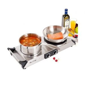 Duxtop Hot Plate Double Cast-Iron Burner