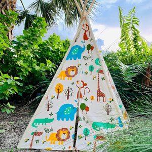 EZSMARTKID Teepee Tents for Kids Complete Set