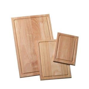 Farberware 3-Piece Wood Cutting Board