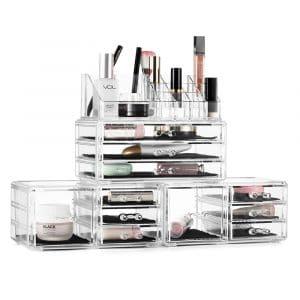 Felicite Home Acrylic Makeup Organizer