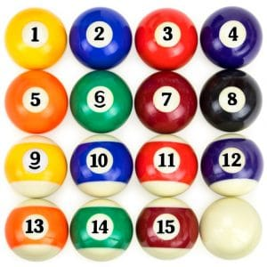 Felson Billiard Supplies Pool Tables Precision Engineered Billiard Balls