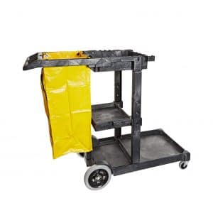 Impact Products 6850 Janitor's 25-Gallon Bag Cart