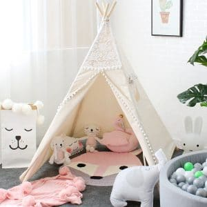 Lebze Teepee Tent for Kids