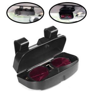Car Visor Clip  Premium Double Glasses Sunglasses Clip Card Ticket Holder Clip