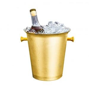 BarSoul Champagne Ice Bucket with carrying Handle