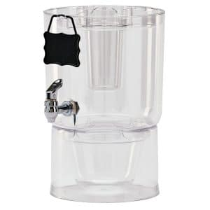 Buddeez 14401C-ONL Beverage Dispenser, Clear