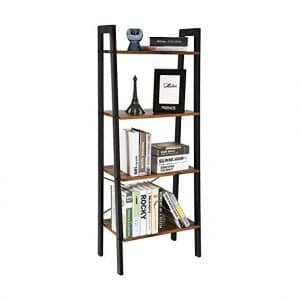 Comodo 4 Tier Bookshelf Ladder Shelf Storage Rack