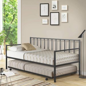 Giantex Twin Size Daybed with Trundle