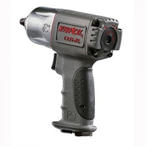 NitroCat 1355-XL 3:8-Inch Composite Air Impact Wrench With Twin Hammer Mechanism