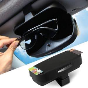 Car Sunglasses Holder Ticket Credit Card Holder Clip Glasses Sun Visor unt IG