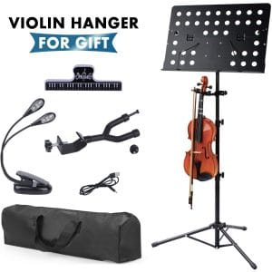 Klvied Metal Violin Music Stand