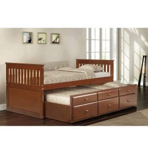 LZ LEISURE ZONE Kids Captain's Daybed