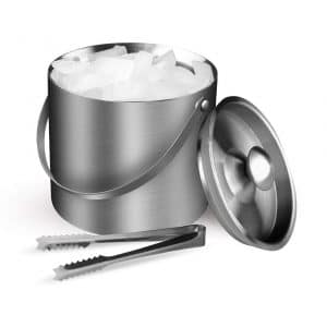 NISONG Insulated Stainless Steel 3L Ice Bucket