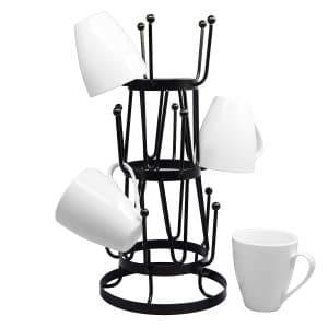 Neat-O Stylish Steel Mug Tree Holder