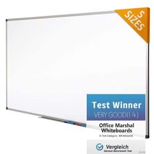 Office Marshal Magnetic Dry Erase Whiteboard