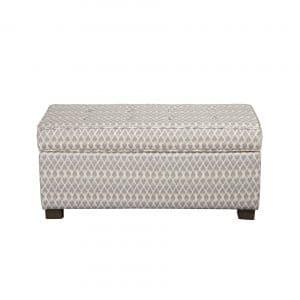 HomePop Upholstered Large Rectangle Storage Bench
