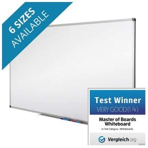 Magnetic Dry Erase Whiteboard from Master of Boards