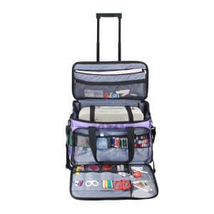 Luxja Rolling Sewing Machine Bag