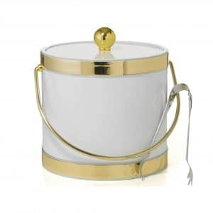 Mr. Ice Bucket By Stephanie Imports Double Wall Ice Bucket