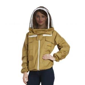 Natural Apiary Apiarist Medium, Khaki Beekeeping Jacket