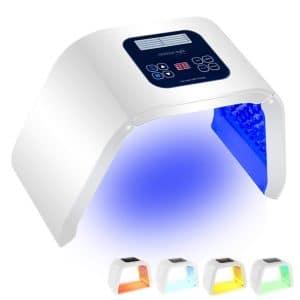 URYOUTH 7 Color LED Face Photon Mask Photon Light Skin Rejuvenation Therapy Facial Skin Care Machine