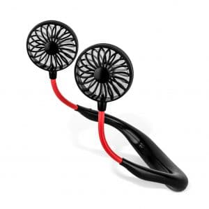 LUWATT Portable Hands-Free Neck Fan