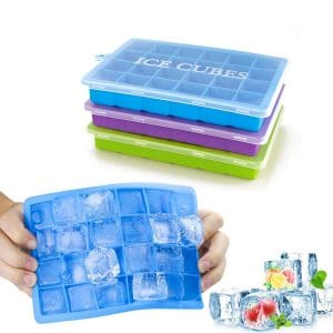 Morfone 3-Pack Ice Cube Tray