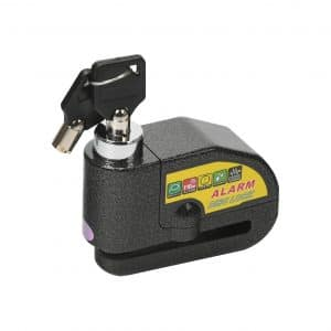 STAYING Alarm Disc Lock 110DB Waterproof Wheel Padlock