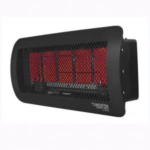 Bromic Heating Tungsten 500 Smart-Heat Gas 5 Burner Radiant Infrared Patio Heater, Natural Gas, 43000 BTU