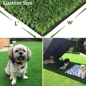 Green Pasture Artificial Grass with Drainage Holes