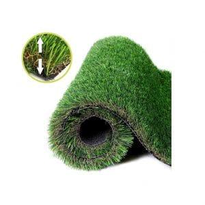 NAHI Realistic Thick Artificial Grass Rug 3 x 5Ft
