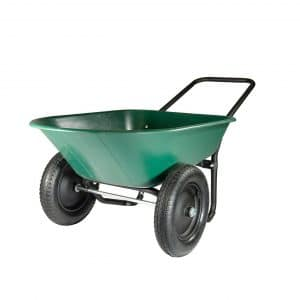 Marathon Industries 2 Tire Yard Rover Wheelbarrow