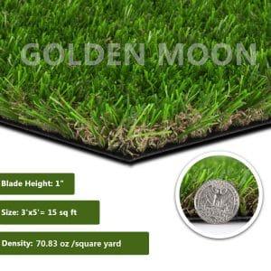 GOLDEN MOON Realistic Artificial Grass
