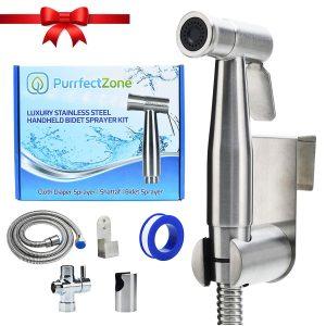 Purrfectzone Cloth Diaper Sprayer (Brushed Nickel)