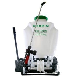 Chapin 61900 4-Gallon Stainless Steel Wand Commercial Backpack Sprayer