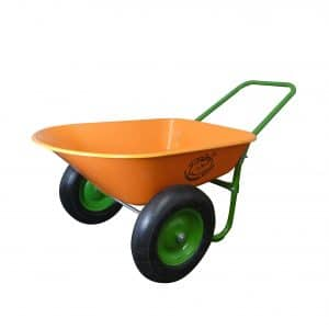 Marathon Industries Dual-Wheel Rover Wheelbarrow