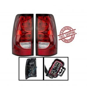 AutoLightBulbs Chevy Replacement Tail Light