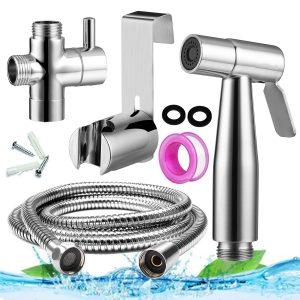 Ginbel Direct Handheld Bidet Sprayer for Toilet - Chrome
