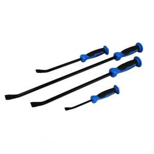 ION TOOL 8-24 inch 4 Piece Set Pry Bar with Hammer Top
