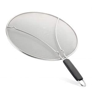 Splatter Screen for Frying Pan by Zulay Kitchen
