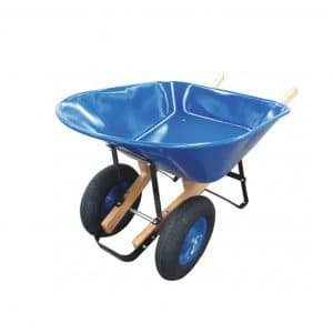 Westward 2 Pneumatic 8 cu. Ft Steel Wheelbarrow