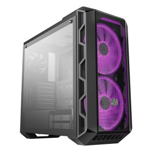 Cooler Master MasterCase Tempered Glass Side Panel H500 ATX Mid-Tower