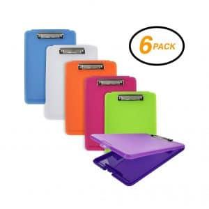 Emraw Plastic Translucent Clipboards