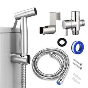 AIFUSI Cloth Diaper Sprayer - Stainless Steel Construction and Easy Installation