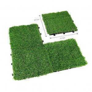 Egeen Interlocking Artificial Grass Turf