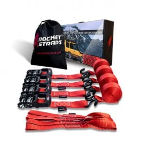 Rockets Straps Heavy-Duty Ratchet Straps